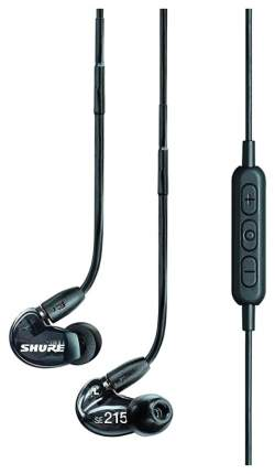 Беспроводные наушники Shure SE215 Black