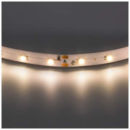 Лента светодиодная теплый белый цвет Lightstar 3528 400002 1 метр