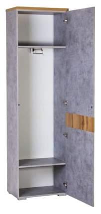 Платяной шкаф МФ Мелания Римини 2032 MEL_2032 58Х38х199,5, бетон чикаго/дуб вотан