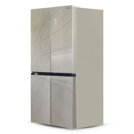 Холодильник Ginzzu NFK-575 Gold Glass