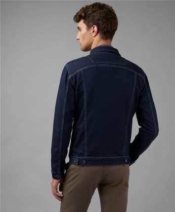 Джинсовая куртка мужская HENDERSON JK-0323 синяя 46