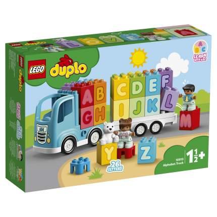 Конструктор LEGO DUPLO Creative Play 10915 Грузовик «Алфавит»