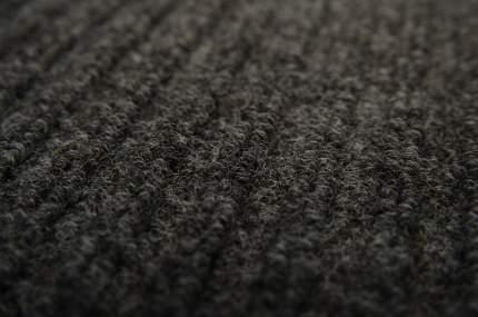 Коврик влаговпитывающий, ребристый 50*80 см. СТАНДАРТ чёрный, In'Loran арт. 10-586