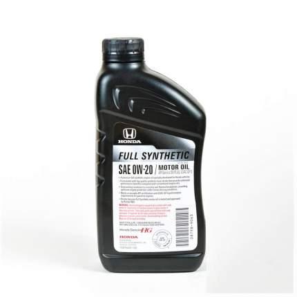 Моторное масло Honda Ultra Synthetic Blend 0W-20 SN 0,946л