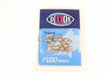 Набор мормышек вольфрамовых Dixxon-Rus капля + шар с ушком, S, черный никель