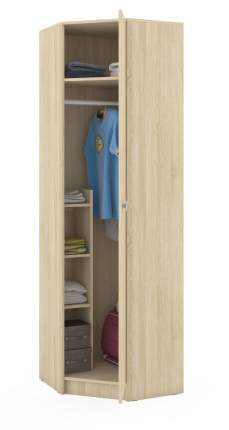 Платяной шкаф Mobi Глория 2 107 3205001 63х63(36)х207, дуб сонома