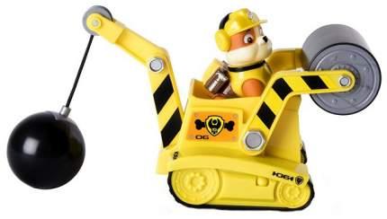Игровой набор Paw Patrol Машинка спасателя и щенок (Крепыш)