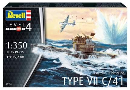 Модели для сборки Revell Немецкая подводная лодка типа VII C/41 05154