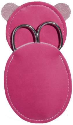 Ножницы маникюрные Kuchenland Touch Kids 100 мм Розовый футляр