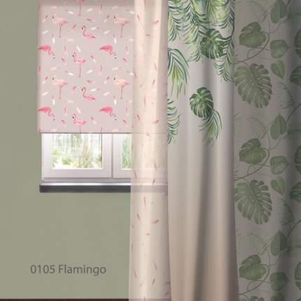Штора Рулонная Волшебная Ночь 120х175 см Flamingo