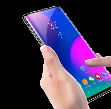 Пленка Baseus soft screen protector 0.15 мм для Samsung Galaxy S10 black