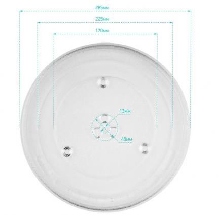 Тарелка ONKRON KOR-810S для микроволновой печи Daewoo 285 мм