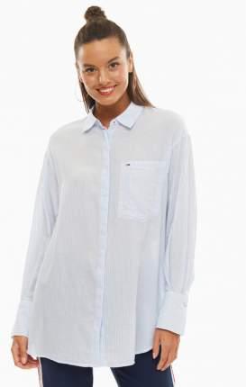 Блуза женская Tommy Jeans голубая 38