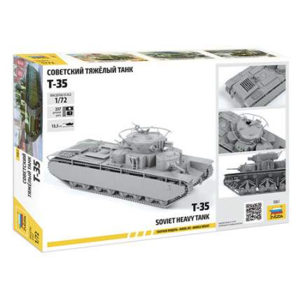 Модель сборная Советский танк Т-35 5061з