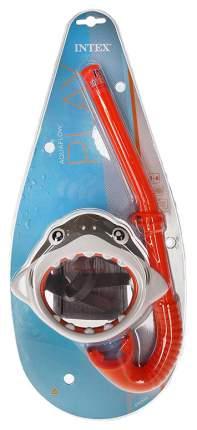 Маска для плавания Intex Акула grey
