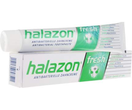 Зубная паста OneDropOnly halazon fresh, реминилизазия и укрепление эмали,с ментолом 75мл