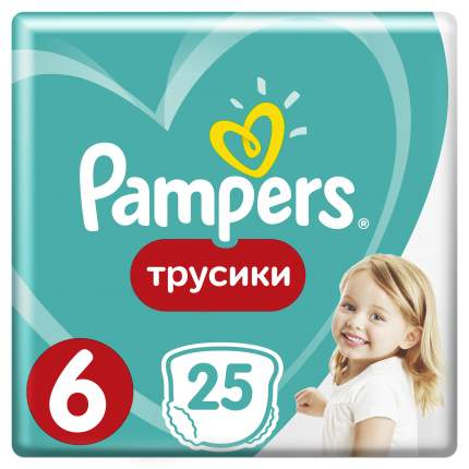 Трусики - подгузники Pampers Pants 16+ кг - 25 шт