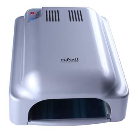 ruNail, Лампа UV, модель RU 912, 36W, серебряная (индукционная)
