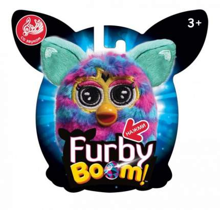 Мягкая игрушка 1 TOY Furby сердце плюшевая игрушка 11 см со звуком, блистер