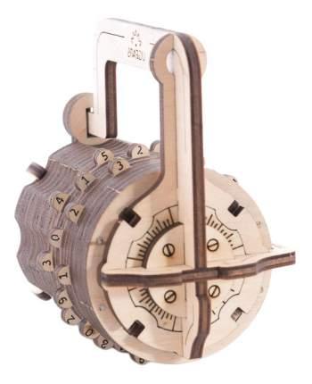 Сборная модель конструктор UGEARS Кодовый замок