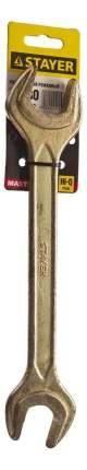 Рожковый ключ Stayer 27038-27-30