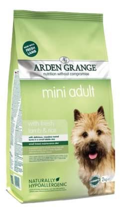 Сухой корм для собак Arden Grange Adult Mini, ягненок, рис, 2кг