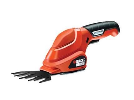 Аккумуляторные садовые ножницы Black & Decker GSL200-QW