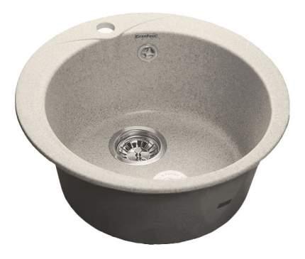 Мойка для кухни мраморная GranFest Rondo GF-R480 серый