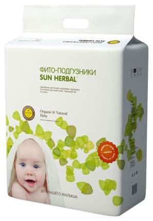 Подгузники Sun Herbal M (6-11 кг), 57 шт.