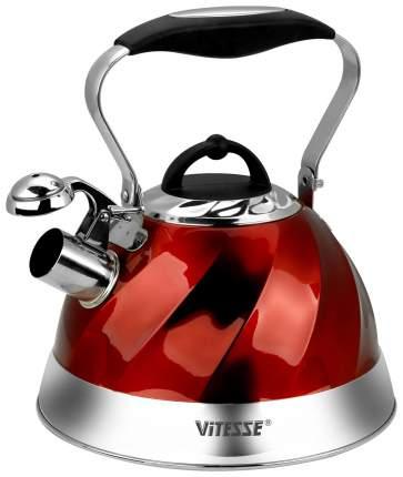 Чайник для плиты Vitesse VS-1119 Red 3 л