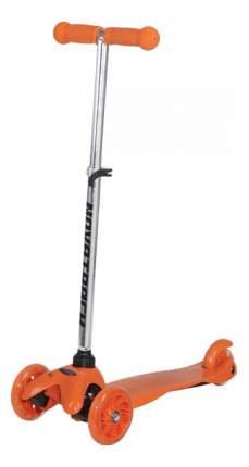 Самокат трехколесный Novatrack Disco-kids 120H.DISCOKIDS.OR6 оранжевый
