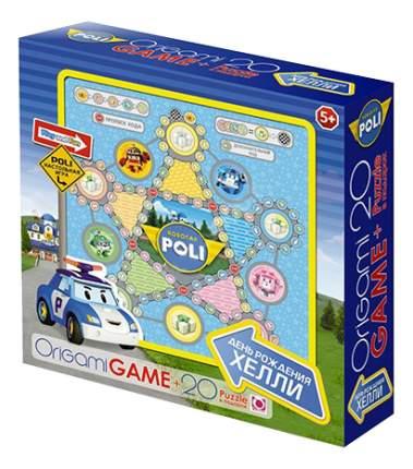 Семейная настольная игра Origami Robocar Poli День рождения Хелли