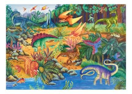 Пазл Большой Напольный Пазл Step Puzzle Динозавры (34 Детали)