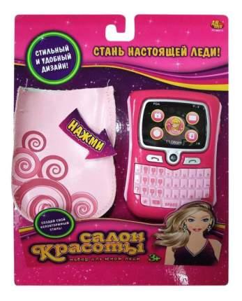 Игровой набор Abtoys Салон красоты: 2 предмета (мобильный телефон, чехол для телефона)