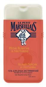 Гель для душа LE PETIT MARSEILLAIS Белый персик и Нектарин 650 мл