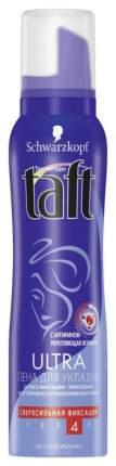 Средство для укладки волос TAFT Пена Ultra сверхсильная фиксация 150 мл