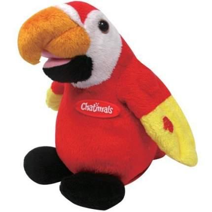 Интерактивная игрушка DRAGON Попугай-повторюшка Red