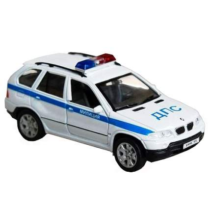Модель машины Welly BMW X5. Милиция ДПС