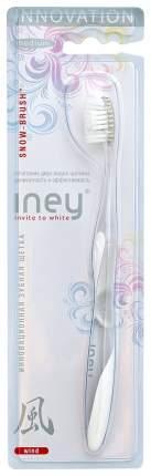 Зубная щетка Splat Iney Snow-Brush Wind, средней жесткости