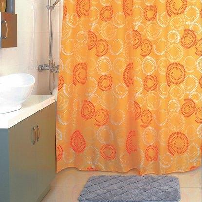 Штора для ванной Milardo Holiday rounds 860P180M11