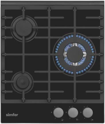 Встраиваемая варочная панель газовая Simfer H45L35B511 Black