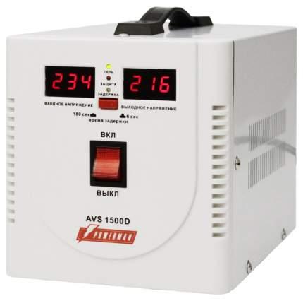 Стабилизатор напряжения Powerman AVS 1500D белый