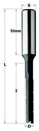 Фреза HL для долбежного станка 10x70x125 Z=2 S=16 LH CMT 102.100.32