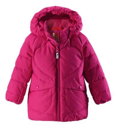 Куртка детская Reima Loiste малиновая для девочки р.98
