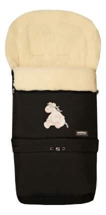 Конверт-мешок для детской коляски WOMAR Multi Arctic черный