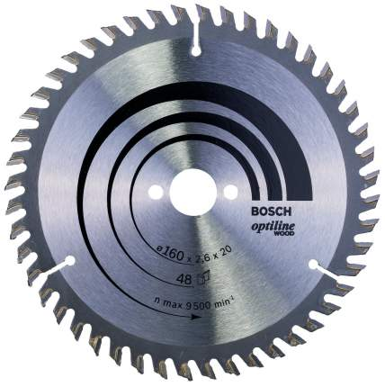 Пильный диск по дереву Bosch STD WO 160x20-48T 2608640732