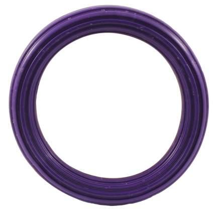 Игрушка для собак Гамма, кольцо литое, резное большое 130мм*54 каучук