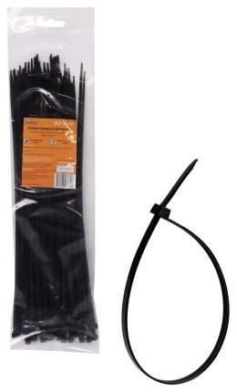 Стяжка (хомут) AIRLINE кабельный 3,6*300 мм, пластиковый, черный, 1 шт.