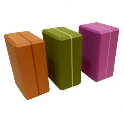 Кирпич для йоги RamaYoga из EVA-пены Yoga brick Supersize 510603