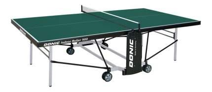 Теннисный стол Donic Indoor Roller 900 зеленый, с сеткой
